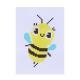 366-207 Набор для вышивания 14х10см (канва, нитки мулине, пластиковая игла), 6-12 дизайнов - 11