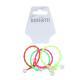 316-327 Резинки для волос с декором BERIOTTI, 4 шт, d.3 см, 2 дизайна - 4