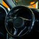 708-113 NEW GALAXY Оплетка руля, натуральная кожа глянец, цвет черный, размер M - 4