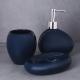 "463-944 VETTA Дозатор для жидкого мыла, ""Море"", керамика, 2 цвета - 4"