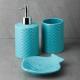 "463-946 VETTA Набор для ванной 3 пр., керамика, ""Лагуна"", 2 дизайна - 4"